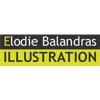 Logo-Elodie Balandras illustration